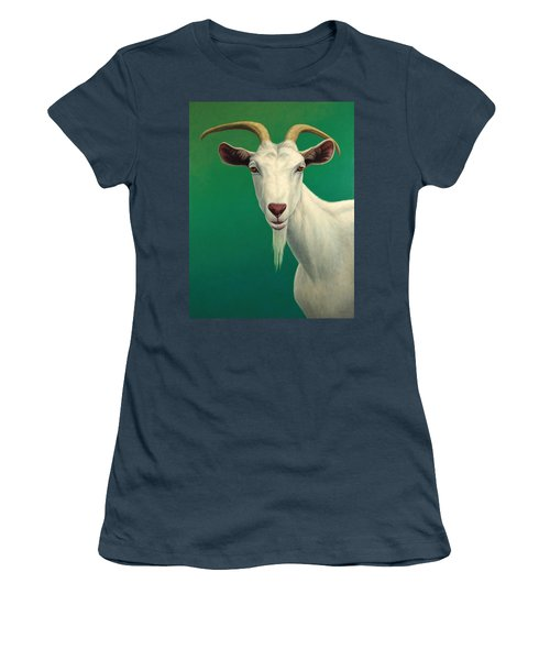 Portrait Of A Goat Women's T-Shirt (Junior Cut)