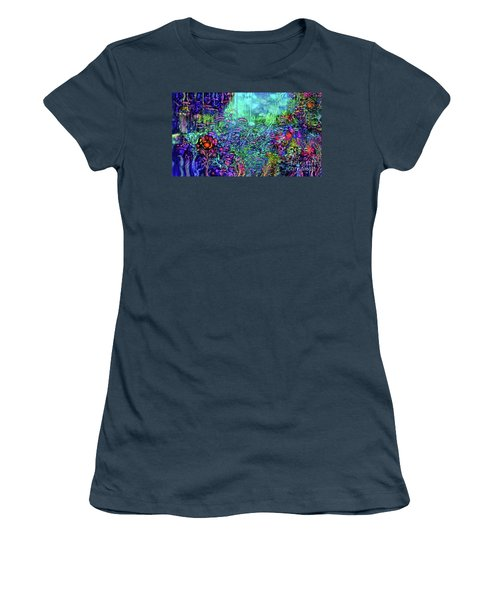 Women's T-Shirt (Junior Cut) featuring the digital art Qualia's Reef by Russell Kightley