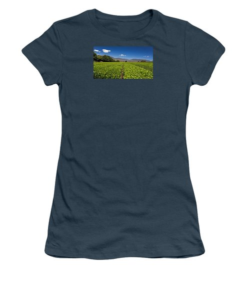 Ready For Harvest Women's T-Shirt (Junior Cut) by Mark Lucey