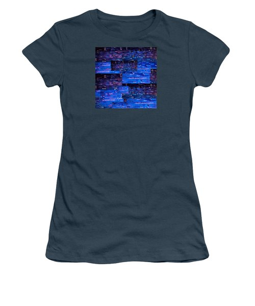 Recycling Women's T-Shirt (Junior Cut) by Shawna Rowe