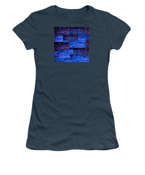 Women's T-Shirt (Junior Cut) featuring the digital art Recycling by Shawna Rowe