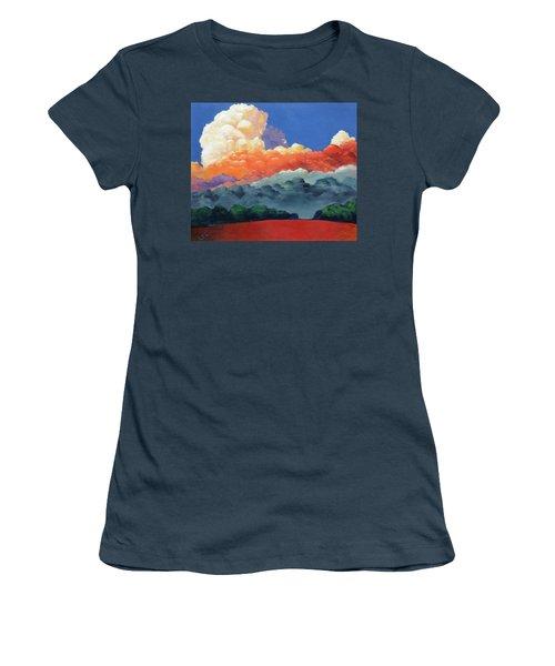Rising High Women's T-Shirt (Junior Cut) by Gary Coleman