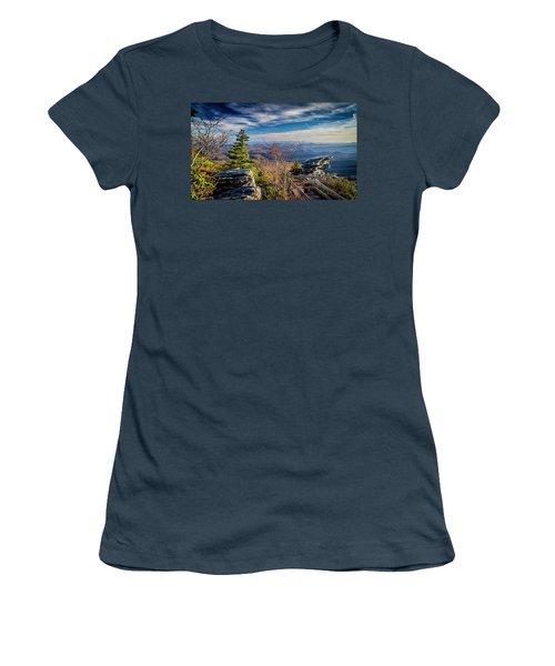 Rough Ridge View Women's T-Shirt (Junior Cut)