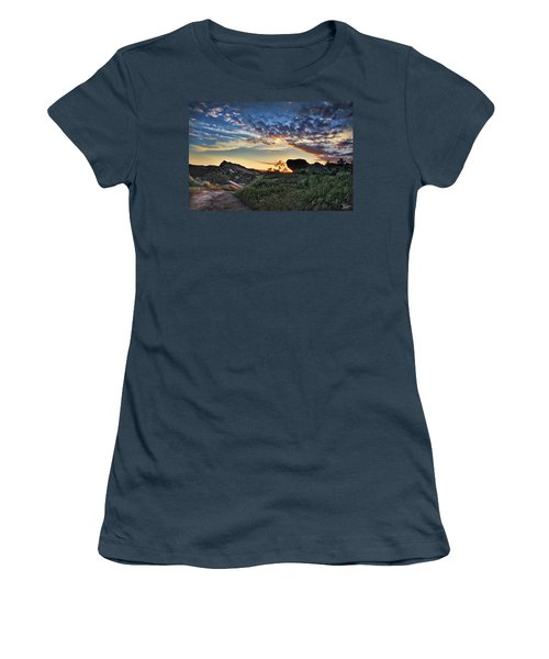 Sage Ranch Sunset Women's T-Shirt (Junior Cut) by Endre Balogh