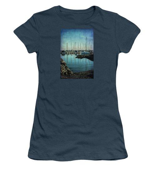 Marina - Digitally Textured Women's T-Shirt (Junior Cut) by Marilyn Wilson