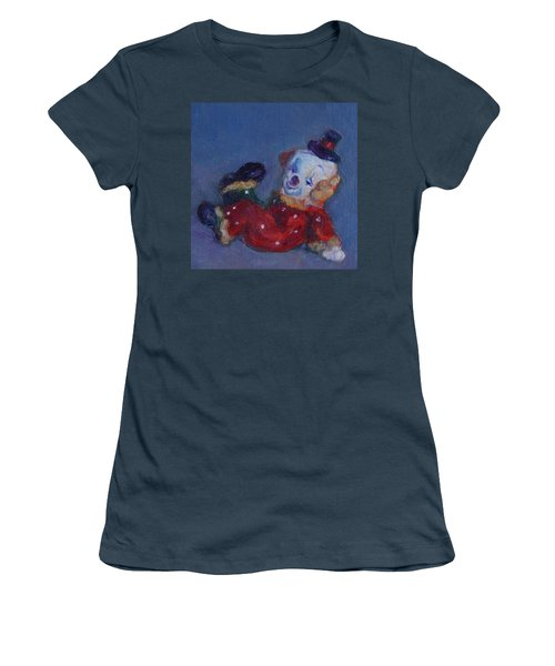 Send In The Clowns Women's T-Shirt (Junior Cut) by Quin Sweetman