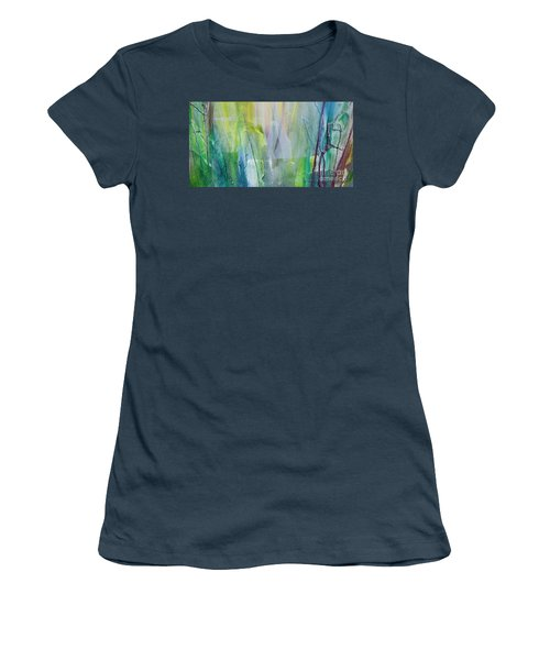 Shapes And Colors Women's T-Shirt (Junior Cut) by Dan Whittemore