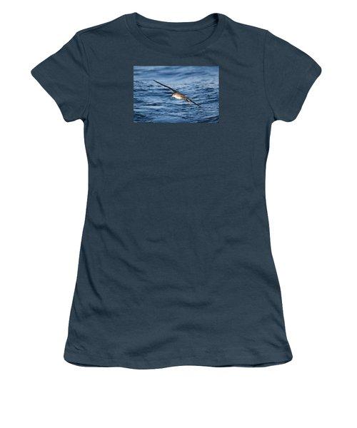 Women's T-Shirt (Junior Cut) featuring the photograph Shearwater by Richard Patmore