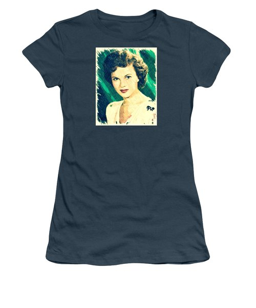 Shirley Temple By John Springfield Women's T-Shirt (Junior Cut) by John Springfield