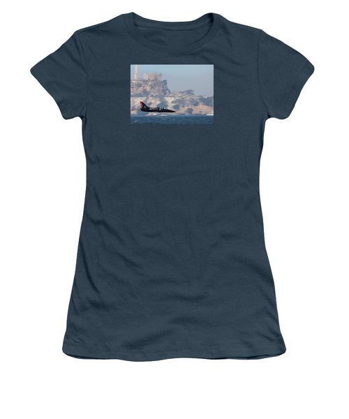 Skimming The Bay Women's T-Shirt (Junior Cut)