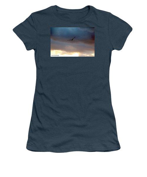 Soaring  Women's T-Shirt (Junior Cut) by Nance Larson