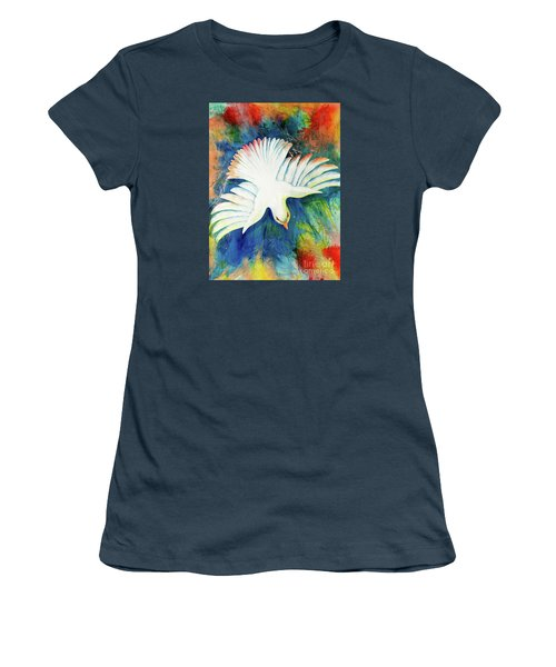 Spirit Fire Women's T-Shirt (Junior Cut) by Nancy Cupp