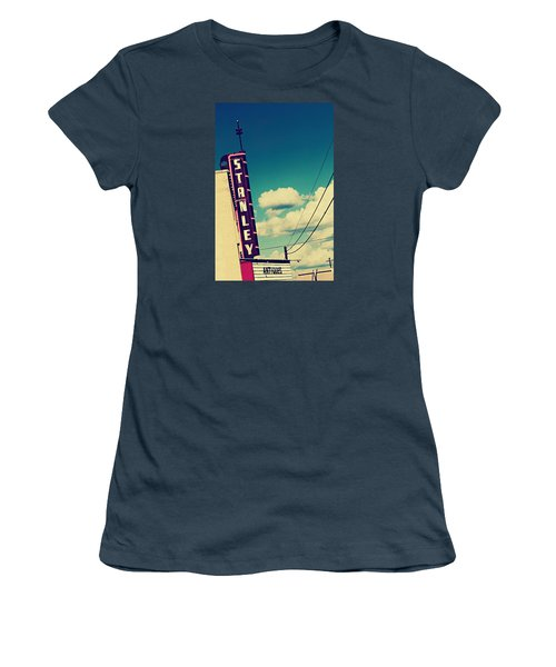 Women's T-Shirt (Junior Cut) featuring the photograph Stanley by Trish Mistric