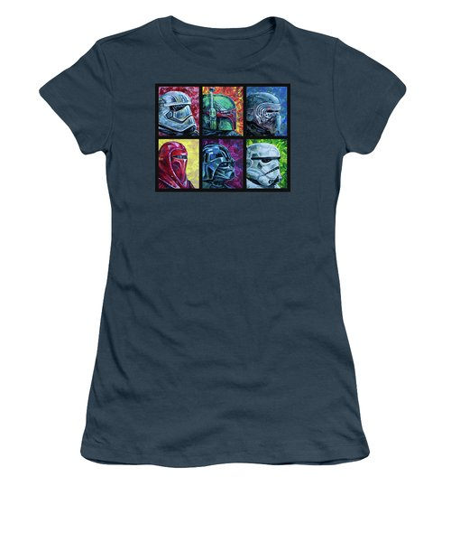 Star Wars Helmet Series - Collage Women's T-Shirt (Athletic Fit)