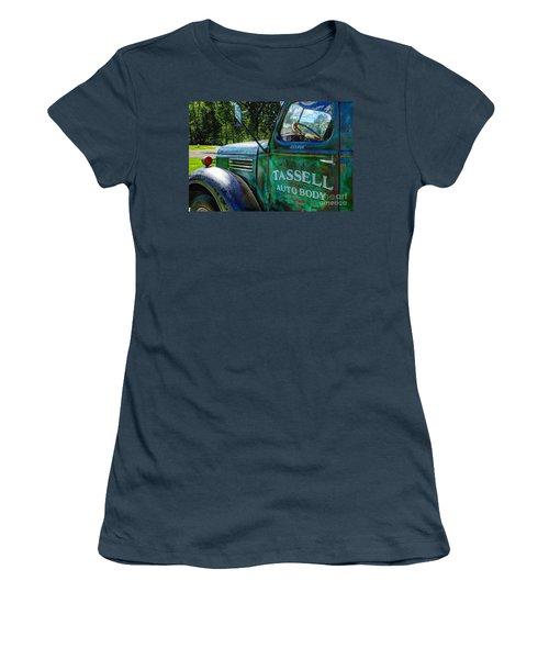 Women's T-Shirt (Junior Cut) featuring the photograph Tassell by Randy Pollard