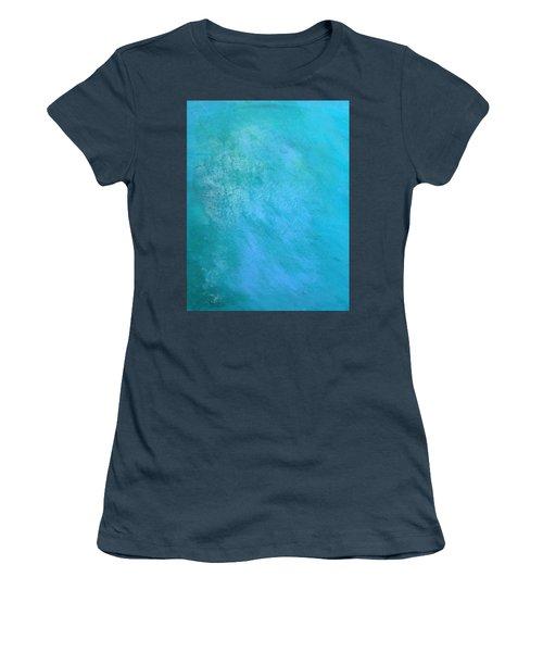Teal Women's T-Shirt (Junior Cut) by Antonio Romero