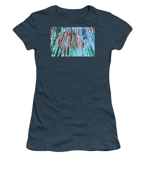 Women's T-Shirt (Junior Cut) featuring the photograph Teddy Bear's Picnic by Tony Beck