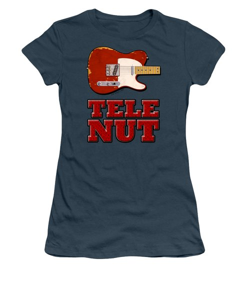 Tele Nut Shirt Women's T-Shirt (Junior Cut) by WB Johnston