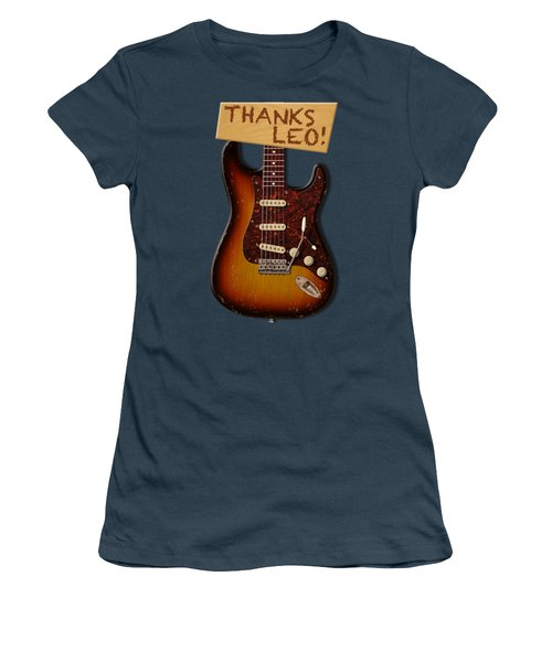 Thanks Leo Strat Shirt Women's T-Shirt (Junior Cut) by WB Johnston