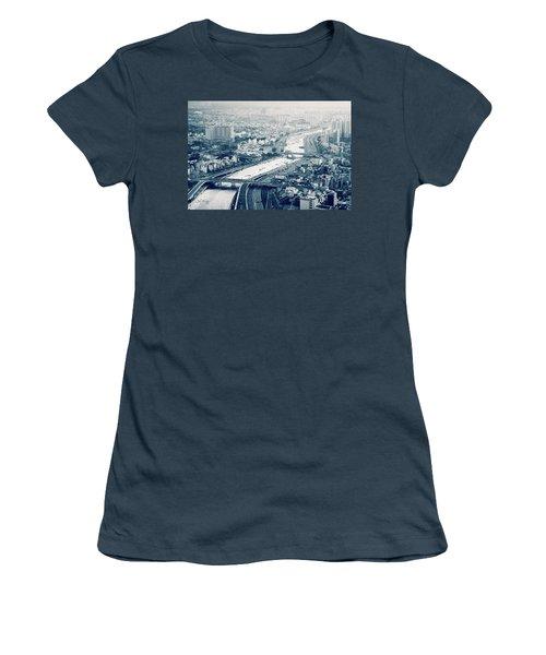 The Bisection Of Saigon Women's T-Shirt (Junior Cut) by Joseph Westrupp