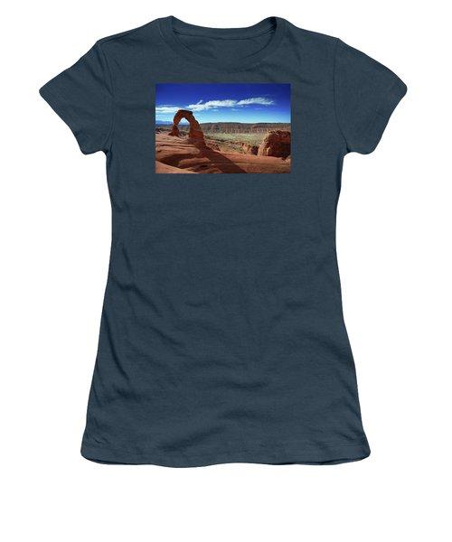 The Delicate Arch Women's T-Shirt (Junior Cut)