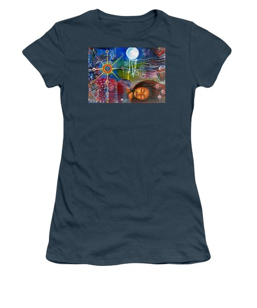 The Dreamer Women's T-Shirt (Junior Cut) by Prerna Poojara