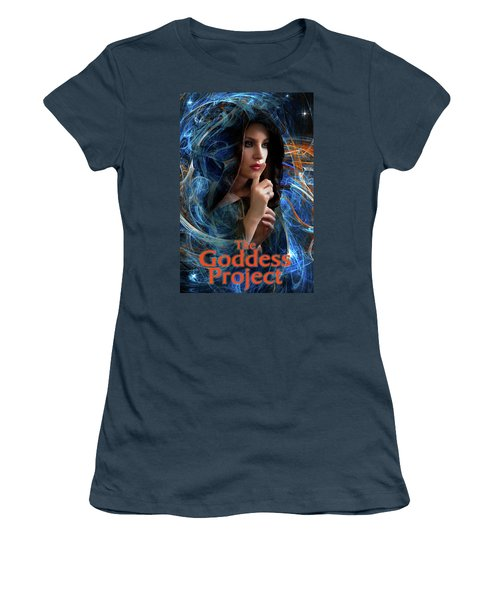 The Goddess Project Women's T-Shirt (Junior Cut) by David Clanton