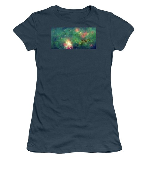 Women's T-Shirt (Junior Cut) featuring the photograph The Invisible Dragon by NASA JPL-Caltech