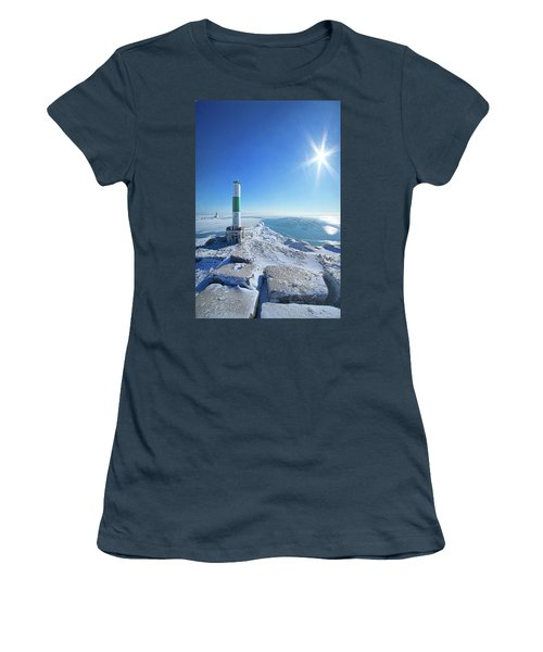 Women's T-Shirt (Junior Cut) featuring the photograph The Light Keepers by Phil Koch