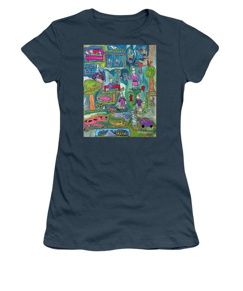 The Playground Women's T-Shirt (Athletic Fit)