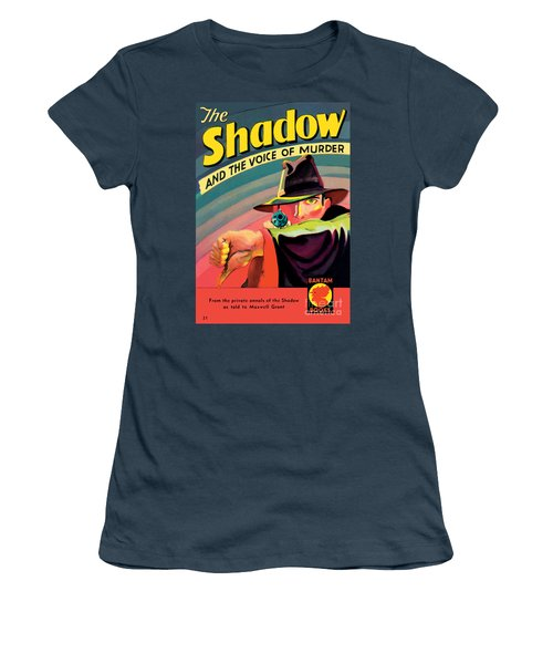 The Shadow Women's T-Shirt (Junior Cut) by George Rozen