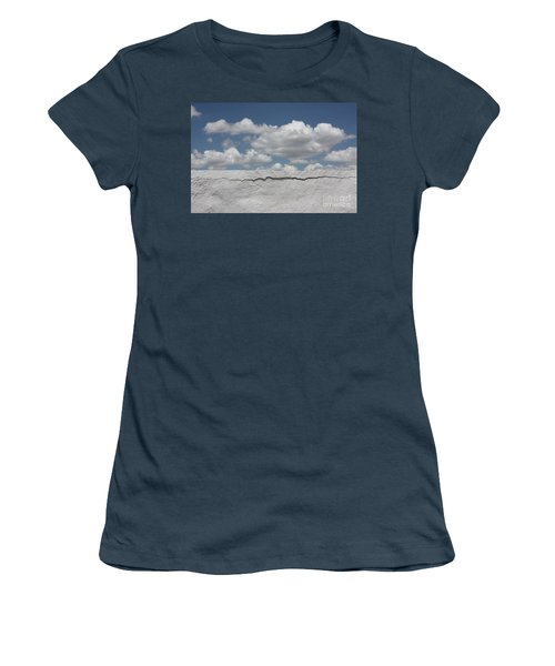 Women's T-Shirt (Junior Cut) featuring the photograph The Sky Is Falling by Brian Boyle