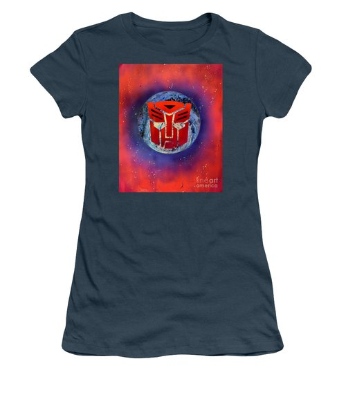 The Transformers Women's T-Shirt (Junior Cut) by Justin Moore