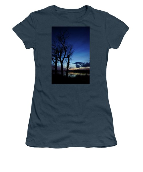 Women's T-Shirt (Junior Cut) featuring the photograph Three Sisters by Cricket Hackmann
