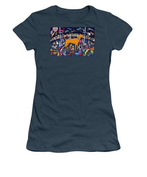 Top Dog Women's T-Shirt (Junior Cut)