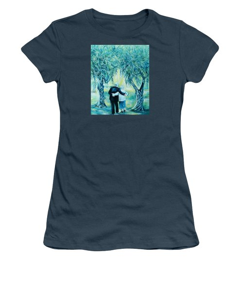 Travel Notebook.olive Groves Women's T-Shirt (Junior Cut)