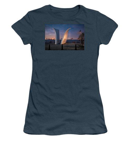 Tribute In Light Women's T-Shirt (Junior Cut) by Eduard Moldoveanu
