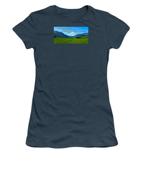 Truth In Fellowship Women's T-Shirt (Junior Cut)