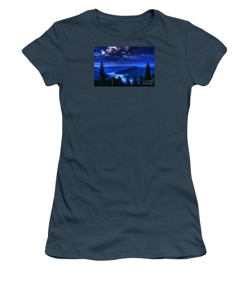 Twilight Thunderhead Women's T-Shirt (Athletic Fit)
