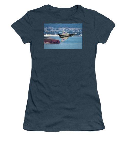 Typhoon Gina At Dawlish Air Show Women's T-Shirt (Junior Cut) by Ken Brannen