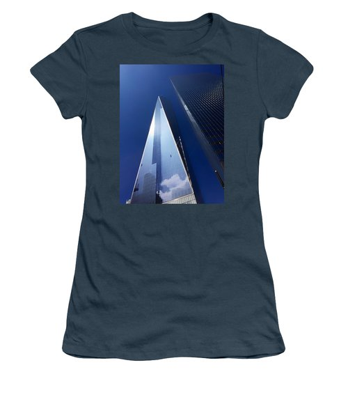 Up In New York Women's T-Shirt (Junior Cut) by Paul Wilford