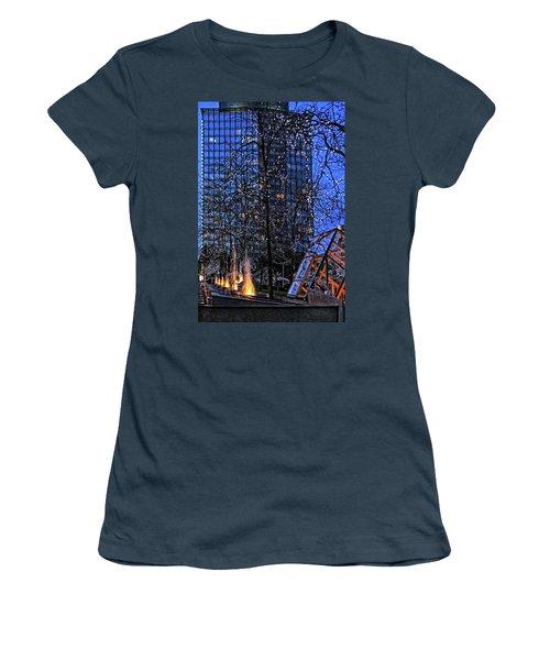 Vancouver - Magic Of Light And Water No 1 Women's T-Shirt (Junior Cut) by Ben and Raisa Gertsberg