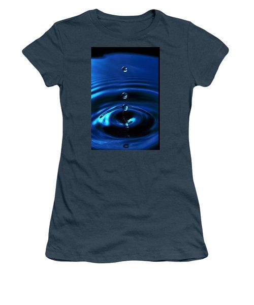 Water Drop Women's T-Shirt (Junior Cut) by Marlo Horne