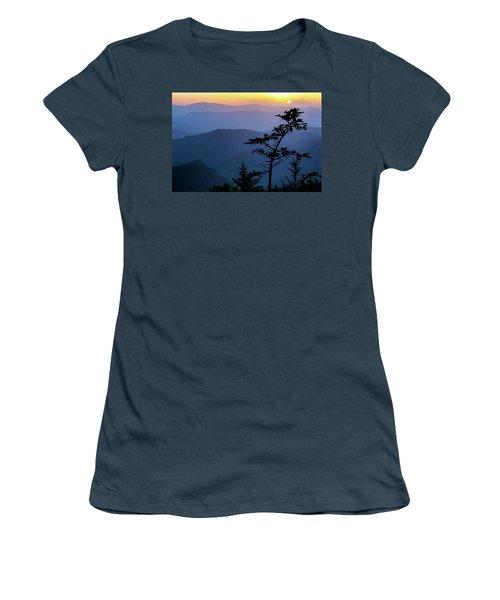 Waterrock Blues Women's T-Shirt (Junior Cut) by Deborah Scannell