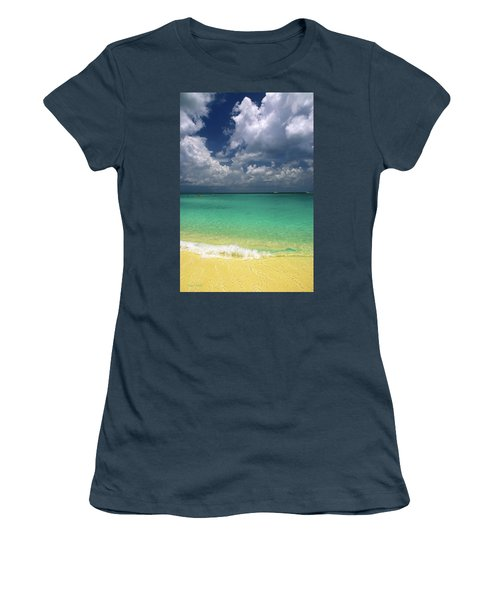 Welcome To Paradise Women's T-Shirt (Junior Cut) by Marie Hicks
