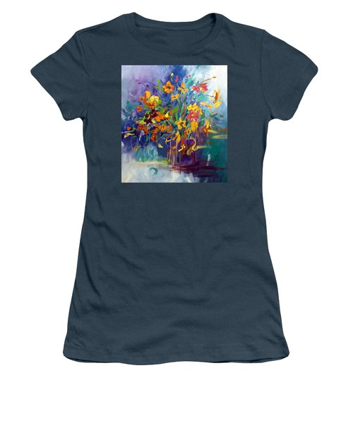 Wildflowers Women's T-Shirt (Junior Cut) by Terri Einer