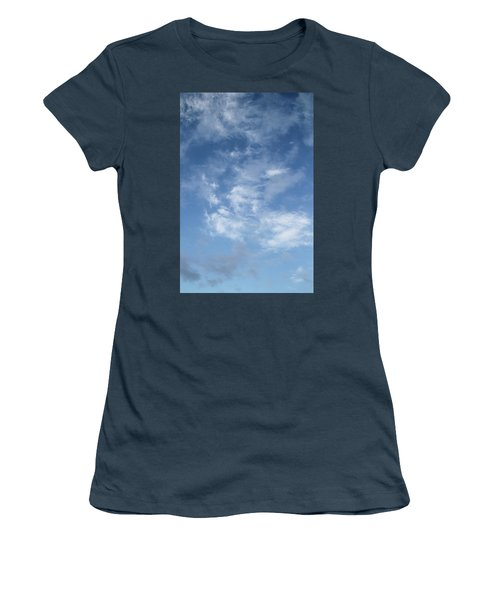 Window On The Sky In Israel During The Winter Women's T-Shirt (Junior Cut) by Yoel Koskas