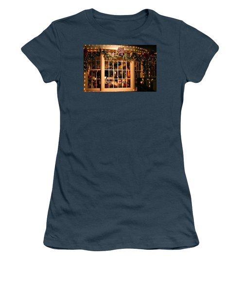 Window Shopping Women's T-Shirt (Junior Cut) by Kristin Elmquist