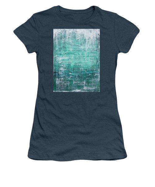 Winter Landscape Women's T-Shirt (Junior Cut) by Jocelyn Friis