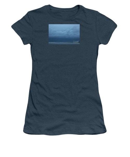 Women's T-Shirt (Junior Cut) featuring the photograph Winter Sky by Jeanette French